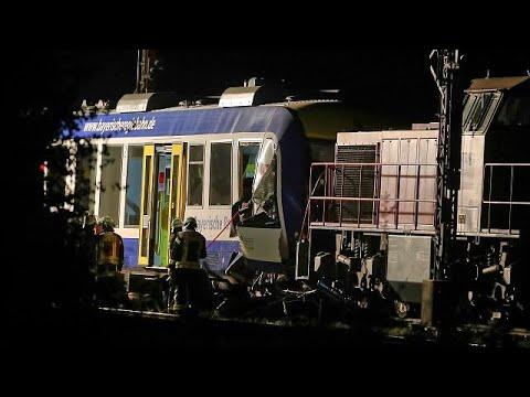 Σύγκρουση τρένων – Δύο νεκροί