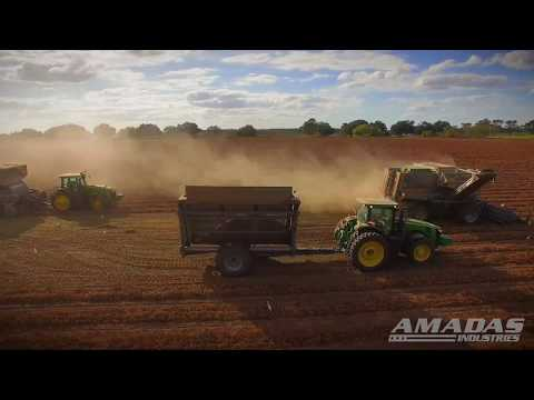 Amadas Peanut Digger/SP and PT Peanut Combines/Infield Crop Transporter