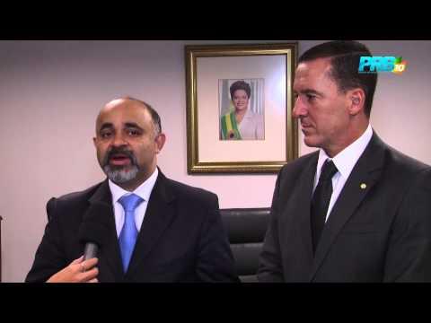 Matéria Exclusiva: Deputado Vinicius Carvalho busca apoio para incentivar esporte no interior