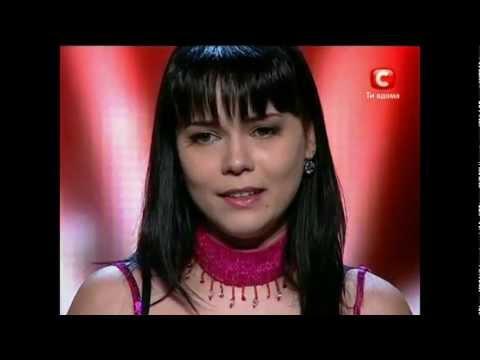 X Фактор. Легендарное выступление Оксаны Шавкун. HD. (видео)