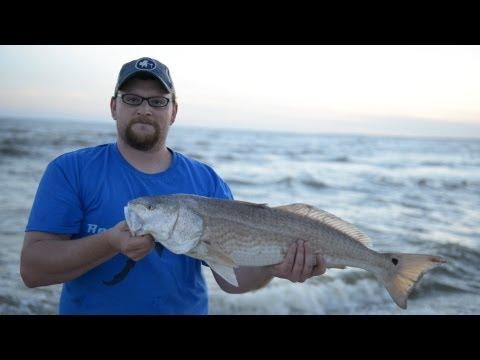 Surf Fishing Indian Pass, FL – May 2013