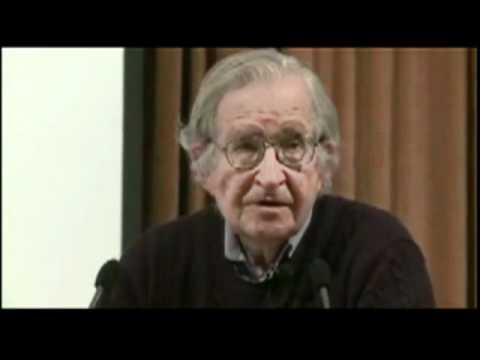 Noam Chomsky - The Economic Crisis, War and Social Change - Brussels - 2011