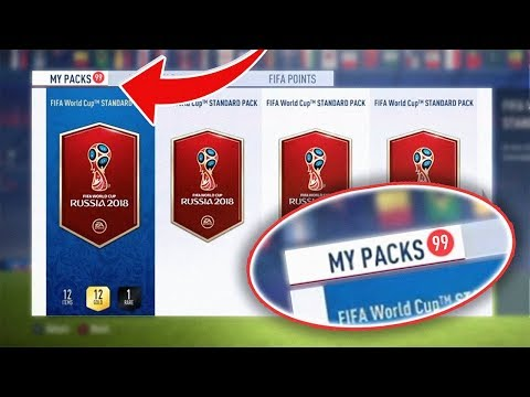 HOW TO FARM WORLD CUP PACKS! - FIFA 18 World Cup Ultimate Team