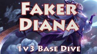 Faker finishes off a strong Diana game in style with a 1v3 base dive and a magical journey to escape. Check out the full game at: http://youtu.be/GqEWGl0vjn8Subscribe for more Korean VODs & commentaries: http://bit.ly/j0kerSUBYou can find all Faker VODs at: http://bit.ly/FakerVODsCheck out more Season 5 VODs at: http://bit.ly/s5VODs