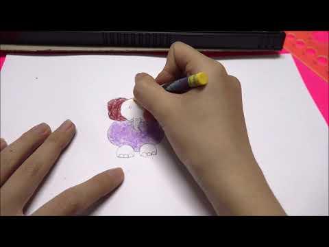 Hướng Dẫn Vẽ Con Voi Bằng Thước Kẻ
