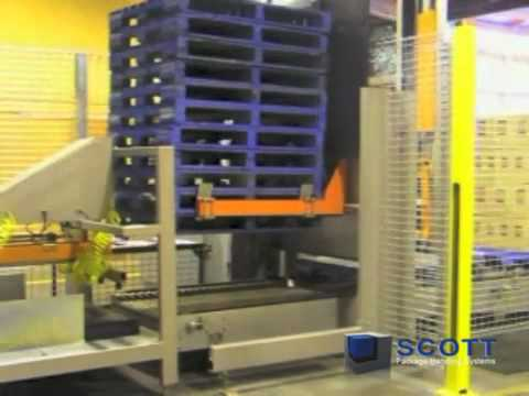 Pallet Dispenser & Stacker
