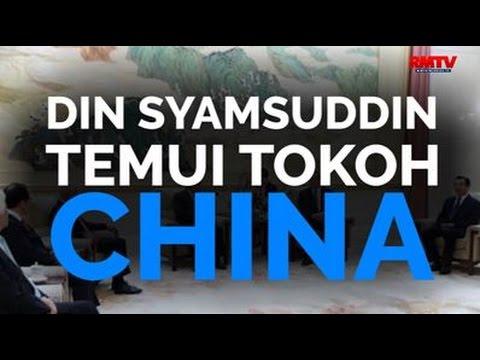 Din Syamsuddin Temui Tokoh China