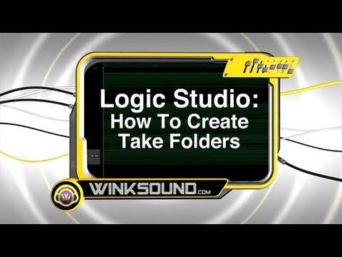 Logic Pro: How To Create Take Folders | WinkSound