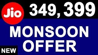 Namaskaar Dosto, is video mein maine aapse latest Jio Monsoon offer ya fir Jio Dhan Dhana Dhan Offer ke baare mein baat ki hai, jaha aapko 399 mein 3 months ...