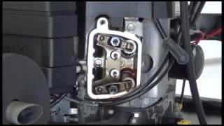 5. Setting the Valves and Checking Compression on a Kawasaki FH500V