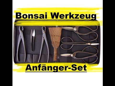 7-teiliges Bonsai Werkzeug Set - Empfehlenswert?