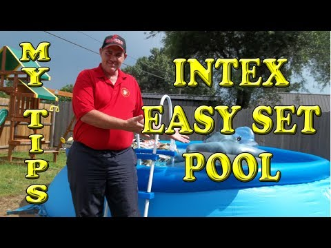 Intex Easy Set 15 X 42 Pool Unboxing Setup Tips