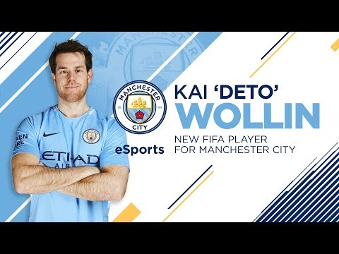 Video: KAI 'DETO' WOLLIN SIGNS FOR MANCHESTER CITY ESPORTS! | World Champion FIFA player joins City!