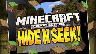 Minecraft Pocket Edition - HIDE N SEEK! - BLOCK HUNT! #4