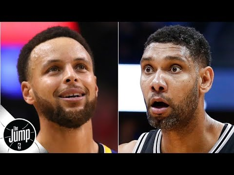 Video: We're about to find out if Stephen Curry is the Warriors' Tim Duncan - Ramona Shelburne | The Jump