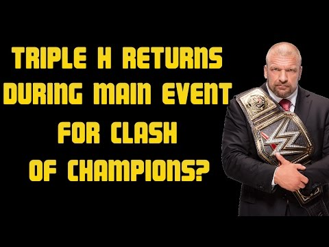 "WWE Clash Of Champions 2016: Triple H To Begin Feud With Seth Rollins During ""Clash Of Champions""?"