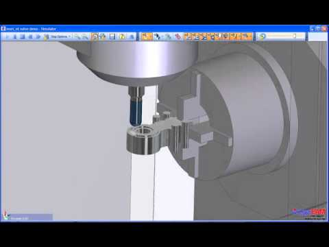 Edgecam Mill/Turn (видео)