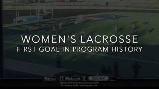Women's Lacrosse - First Goal in Program History