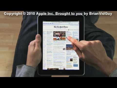 The NEW Apple iPad (Tablet Touch Screen Device)