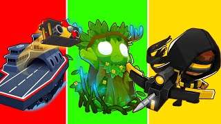 Bloons TD6 - 4-Player Raft Challenge | JeromeASF