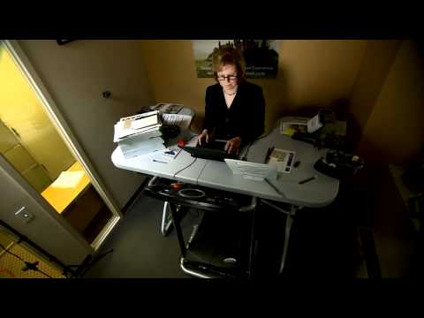 Inside E Street Reports on the TrekDesk Treadmill Desk