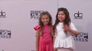 Rosie McClelland & Sophia Grace Brownlee Red Carpet Fashion   AMAs 2015 full download video download mp3 download music download