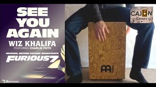 Video See You Again - Wiz Khalifa ft. Charlie Puth Cajon Cover | Cajon Covers download in MP3, 3GP, MP4, WEBM, AVI, FLV Februari 2017