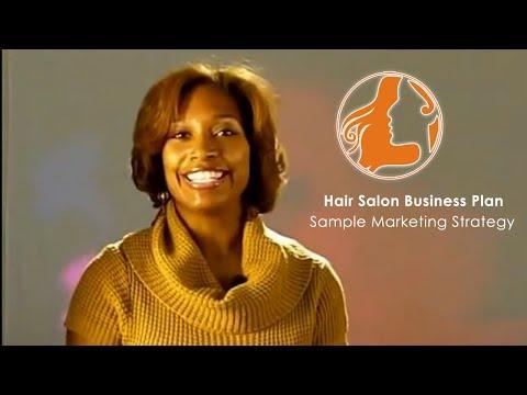 Hair Salon Business Plan Sample Marketing Strategy