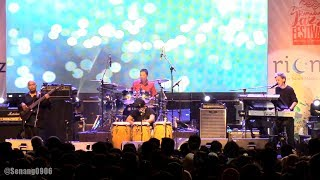 Fariz RM Kuartet performed at The 7th Ramadhan Jazz Festival at Cut Meutia Mosque in Menteng, Jakarta, Indonesia on June 9th ...