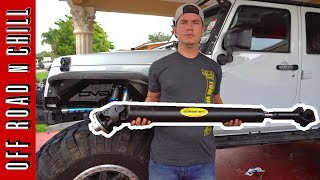 How to install a Driveshaft in your Jeep Wrangler JK, here is a video about it, we are installing a Tom woods 1350 Driveshaft today and I hope this video can help you, Installing this Tom Woods 1350 is very easy, just 10 bolts in total and thats all, Please is you like this video about how to install a Driveshaft in your Jeep wrangler JK Please Subscribe.Tom Woods Driveshaft2147 N. Rulon White Blvd. Suite #103 Ogden, UT  84404Phone: 1-801-737-0757Follow us on:Facebook: ( https://www.facebook.com/OffRoadnchill )Instagram: ( https://www.instagram.com/offroadnchill )Twitter:  ( https://twitter.com/OffRoadnChil  )SongHard Emotional Rap beat Trap instrumental Hip Hop Type 808 Trap beat 2017 Free NEWby: Rap beathttps://www.youtube.com/watch?v=ROQYVbHp6gw
