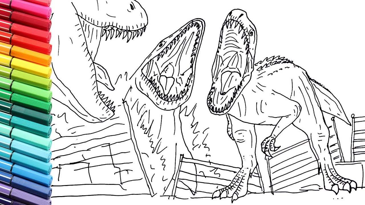 Drawing and Coloring Indominus