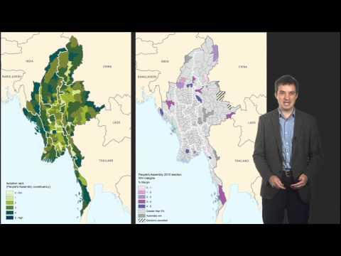 Mapping Myanmar  's neue politische Geographie
