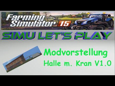 Halle mit Kran v 1.0 placeable  v1.0