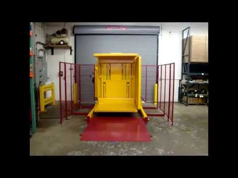 Ramp Loaded Dual Clamp Pallet Inverter
