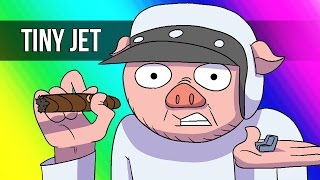 Vanoss Gaming Animated - Worlds Smallest Jet (From GTA 5)
