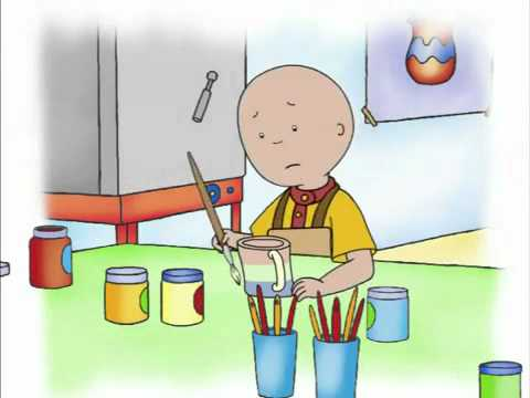 Caillou Videos Channel - Caillou and The Broken Cup