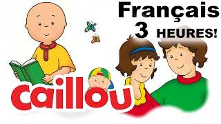 Ecole-Valentin France  city photos gallery : Caillou en Français - Nouveaux épisodes - Caillou Pour 3 Heures! | conte pour enfant