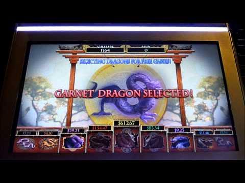Fireball and House of Dragons Slot Machine Bonus Win (queenslots)