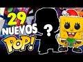 29 NUEVOS Funko POP FILTRADOS de Marvel, Los Simpsons, Bob Esponja y MAS