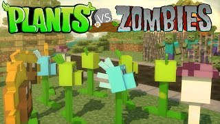 Minecraft | Plants vs. Zombies Mod Showcase! (Plants vs Zombies, PVZ Mod, Zombies Mod)