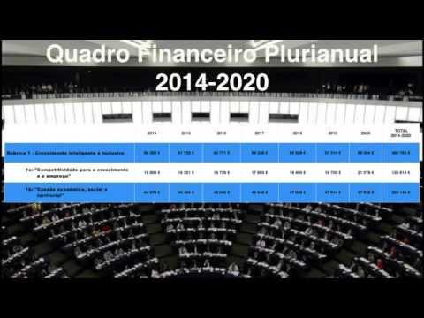 Minuto Europeu nº 12 - Quadro Financeiro Plurianual