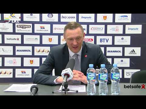 """""""Betsafe–LKL"""" rungtynių komentarai: """"Neptūnas"""" - """"Juventus"""" [2019-04-25]"""