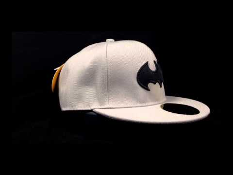 Batman Dark Knight Flat Bill Adjustable Baseball Cap