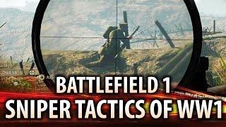 Battlefield 1: SNIPER TACTICS OF WORLD WAR 1!  Featuring Verdun Multiplayer Gameplay