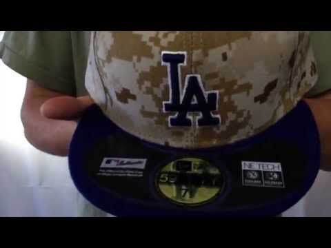 Dodgers '2014 STARS N STRIPES' Fitted Hat by New Era