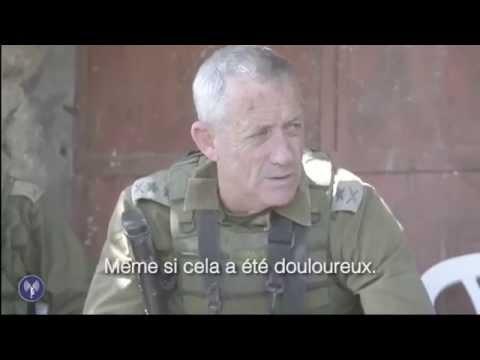 Le chef d'état-major soutient les soldats sur le front à Gaza