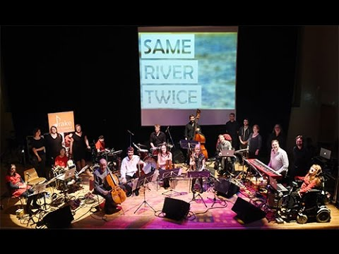 SAME RIVER TWICE - A collaboration between Drake Music Scotland and the National Youth Jazz Orchestra of Scotland (NYJOS Collective)