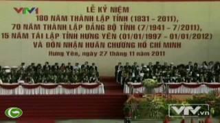 Chủ Tịch Nước Trương Tấn Sang Dự Kỷ Niệm 180 Năm Thành Lập Tỉnh Hưng Yên