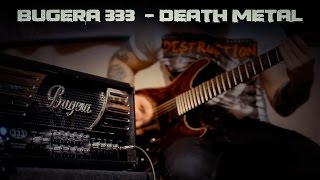 Death Metal demo of my Bugera 333 amp that use on my new album. EQ settings in the beginning of the video.Song in this video: Inside the Flames - The end is near Buy my album: https://insidetheflames.bandcamp.com/album/your-life-worth-nothingSupport me here: https://vk.com/alexchichikailo_guitarpublichttps://www.facebook.com/alexchichikailo