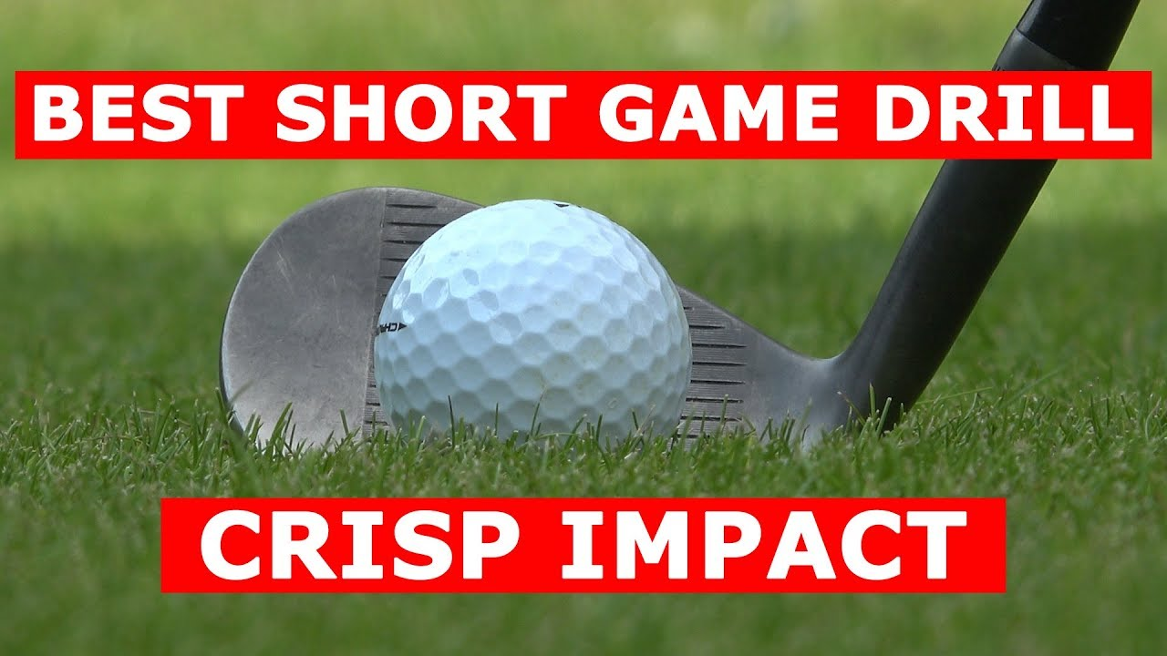 Best short game drill for crisp impact wedge shots